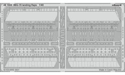 МиГ-15/бис. Закрылки (BRONCO) - EDUARD 481044 1/48