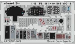 Фототравление для МиГ-15/бис (BRONCO) - EDUARD FE1161 1/48