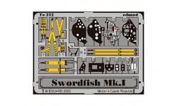 Фототравление для Swordfish Mk. I Fairey (TAMIYA) - EDUARD 49212 1/48