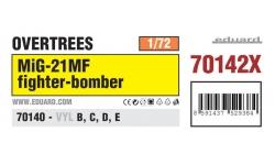 МиГ-21МФ - EDUARD 70142X 1/72