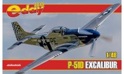 P-51D North American Aviation, Mustang - EDUARD 7141 1/48