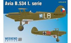 B-534 I. verze Avia - EDUARD 7446 1/72