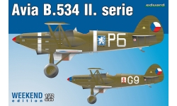 B-534 II. verze Avia - EDUARD 7448 1/72