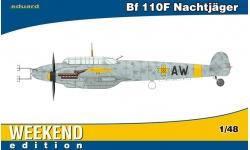 Bf 110F-4 Messerschmitt - EDUARD 84145 1/48