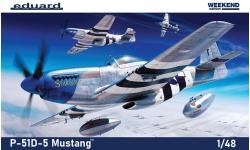 P-51D North American Aviation, Mustang - EDUARD 84172 1/48