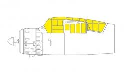 Маски для Lysander Mk. III Westland (DORA WINGS) - EDUARD CX592 1/72