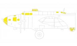 Маски для B-17F Boeing, Flying Fortress (HK MODELS) - EDUARD EX777 1/48