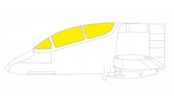 Маски для IA-58A Fábrica Militar de Aviones (FMA), Pucará (KINETIC) - EDUARD EX789 1/48