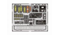 Фототравление для SB2U-3 Vought, Vindicator (ACADEMY, ACCURATE MINIATURES) - EDUARD FE303 1/48