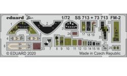 Фототравление для FM-2 General Motors, Wildcat (ARMA HOBBY) - EDUARD SS713 1/72