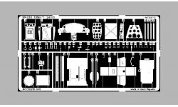 Фототравление для МиГ-17 (TRUMPETER) - EDUARD 32051 1/32
