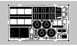 Фототравление для Т-64А (SKIF) - EDUARD 35203 1/35