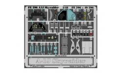 Фототравление для A-1J (AD-7) Douglas, Skyraider (TAMIYA) - EDUARD FE296 1/48