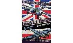 Mosquito PR Mk. IV De Havilland - F-TOYS CONFECT WKC VS8-2 1-S 1/144