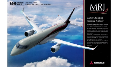 Mitsubishi Regional Jet MRJ90 - FINE MOLDS 15504 1/200
