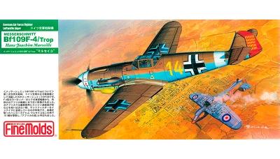 Bf 109F-4 Messerschmitt - FINE MOLDS FL5 1/72