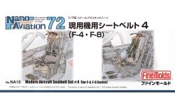 Ремни пристяжные. Современная авиация. Часть 4 (F-4, F-8) - FINE MOLDS NA10 Nano Aviation 1/72