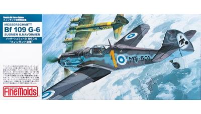 Bf 109G-6 Messerschmitt - FINE MOLDS FL14 1/72