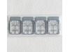 Ремни пристяжные самолетов Люфтваффе 1939-1945 гг - FINE MOLDS NA1 Nano Aviation 1/72