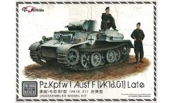 Panzerkampfwagen I, Sd.Kfz. 101, Ausf. F, Krupp, Daimler-Benz - FLYHAWK MODEL FH3006 1/72