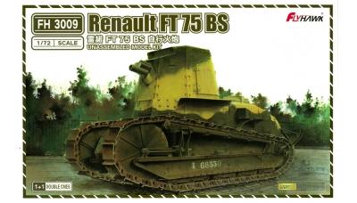 Renault FT 75 BS - FLYHAWK MODEL FH3009 1/72