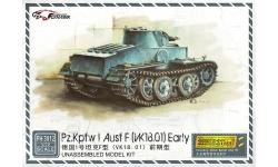 Panzerkampfwagen I, Sd.Kfz. 101, Ausf. F, Krupp, Daimler-Benz - FLYHAWK MODEL FH3012 1/72