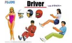 Фигурки водителей - FUJIMI 114910 GT4 1/24