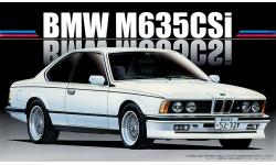BMW M635CSi E24 1985 - FUJIMI 126500 RS-24 1/24
