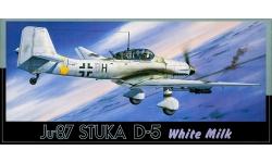 Ju 87D-5/D-8 Junkers, Stuka - FUJIMI 7A-F16-800 1/72