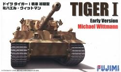 Tiger I, Pz. Kpfw. VI Ausf. H, Henschel - FUJIMI 722696 72M-16 1/72