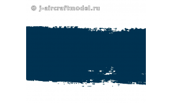 Краска MR.HOBBY H322 водоразбавляемая, темно-синяя глянцевая, JASDF BLUE IMPULSE, 10 мл