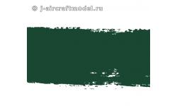 Краска MR.HOBBY H36 водоразбавляемая, темно-зеленая глянцевая, основная, 10 мл