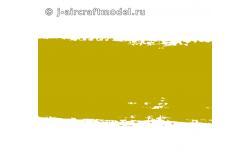 Краска MR.HOBBY H58 водоразбавляемая, желто-зеленая полуматовая, интерьер самолетов ВВС США, 10 мл