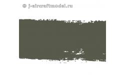 Краска MR.HOBBY H64 водоразбавляемая, темно-зеленая полуматовая, Люфтваффе RLM71, 10 мл
