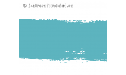 Краска MR.HOBBY H67 водоразбавляемая, серо-голубая полуматовая, Люфтваффе RLM65, 10 мл