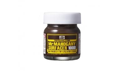 Грунтовка Mr.MAHOGANY SURFACER 1000, махагон (темно-коричневая), 40 мл - MR.HOBBY SF290