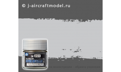 Краска MR.COLOR SUPER METALLIC 2 SM201, серебристый металлик, особо мелкая фракция, 10 мл - MR.HOBBY