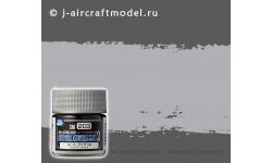 Краска MR.COLOR SUPER METALLIC 2 SM203, стальной металлик, 10 мл - MR.HOBBY