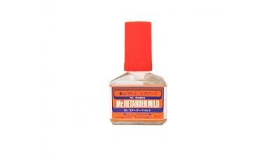 Жидкость для замедления высыхания уретановых красок - Mr.RETARDER MILD, 40 мл - MR.HOBBY T105