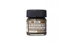 Паста текстурная Mr.WEATHERING PASTE WP01, грязь коричневая, 40 мл - MR.HOBBY
