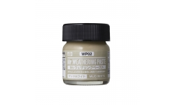 Паста текстурная Mr.WEATHERING PASTE WP02, грязь светлая, 40 мл - MR.HOBBY