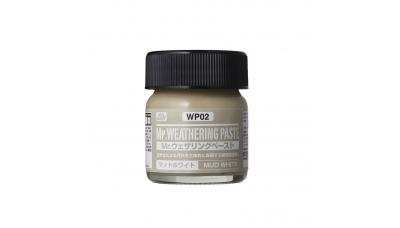 Паста текстурная Mr.WEATHERING PASTE WP02, грязь светлая, 40 мл - MR.HOBBY