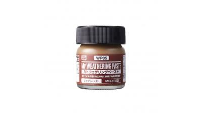 Паста текстурная Mr.WEATHERING PASTE WP05, грязь красная, 40 мл - MR.HOBBY