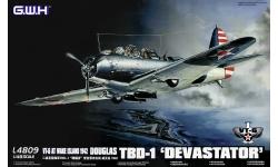 TBD-1 Douglas, Devastator - G.W.H. GREAT WALL HOBBY L4809 1/48