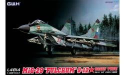МиГ-29 (9-12) - G.W.H. GREAT WALL HOBBY L4814 1/48