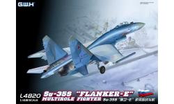 Су-35С Сухой - G.W.H. GREAT WALL HOBBY L4820 1/48
