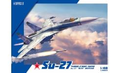 Су-27 Сухой - G.W.H. GREAT WALL HOBBY L4824 1/48