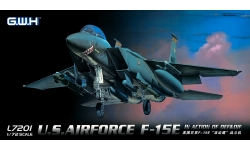 F-15E McDonnell Douglas, Strike Eagle - G.W.H. GREAT WALL HOBBY L7201 1/72