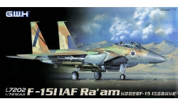 F-15I McDonnell Douglas, Ra'am - G.W.H. GREAT WALL HOBBY L7202 1/72