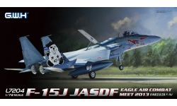 F-15J McDonnell Douglas, Mitsubishi, Eagle - G.W.H. GREAT WALL HOBBY L7204 1/72